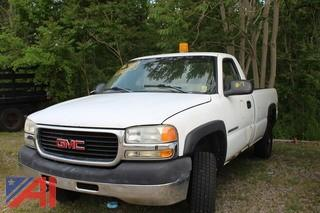 2001 GMC Sierra 2500HD Pickup Truck