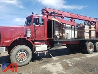 1986 Peterbilt Crane Truck