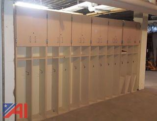 Various Cubby/Storage Sections