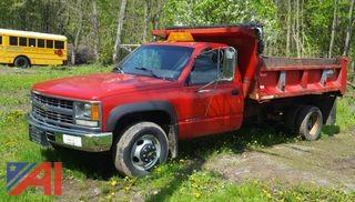 **Lot Updated** 1997 Chevrolet Cheyenne 3500 Dump Truck