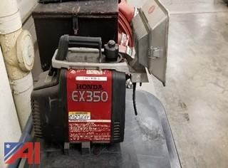 Honda EX350 Portable Generator with Light
