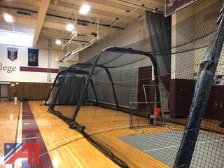 Fold for a Bat-Co Batting Cage