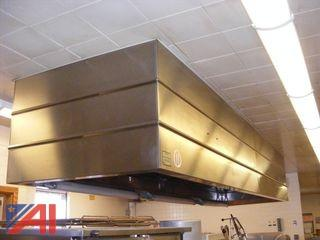 Stainless Steel Ansul Exhaust Hood
