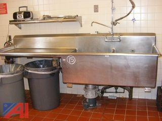 Stainless Steel Double Sink & More
