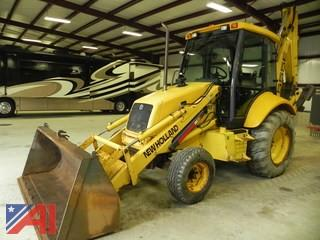 1999 New Holland 555E Backhoe