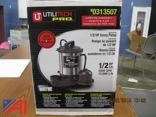 Utilitech Pro 1/2hp Sump Pump
