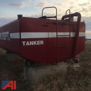 Aluminum 5,000 Water Tanker