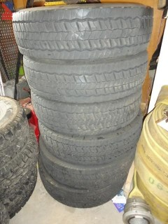 Set of Matched Continental HSR Tires