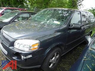 (#10) 2008 Chevy Uplander Van