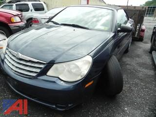 (#20) 2008 Chrysler Sebring Convertible 2 Door