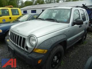 (#5) 2007 Jeep Liberty SUV