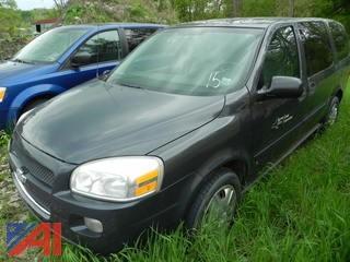 (#15) 2008 Chevy Uplander LS Van