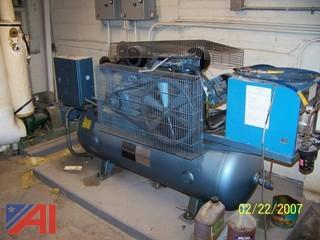 1997 Honeywell Control Systems Twin Air Compressor With Air Dryer