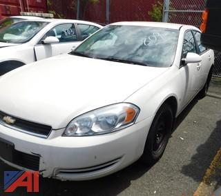 (#809) 2008 Chevy Impala 4 Door