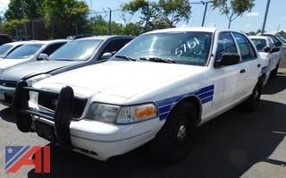 (#5761) 2011 Ford Crown Victoria 4 Door/Police Interceptor