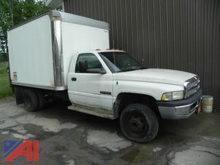 2001 Dodge Ram 3500 Box Truck