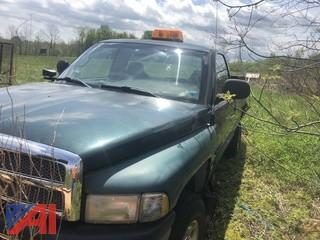 2001 Dodge Ram 2500 Pickup Truck with Plow
