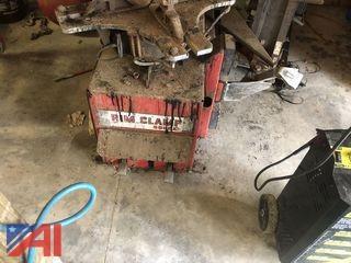 Rim Clamp Tire Changing Machine