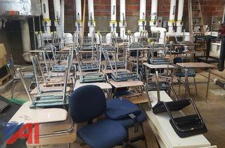 Various Student Desks