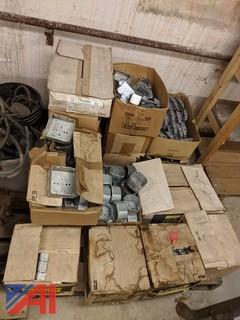 Assorted Metal Junction Boxes