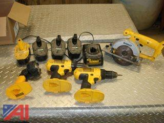 18V Dewalt Cordless Tools and More