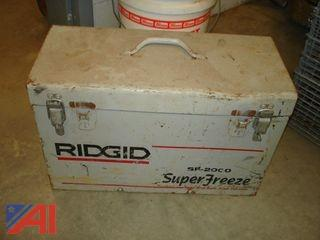 Ridgid Super Freeze SP-2000 Pipe Freeze Kit