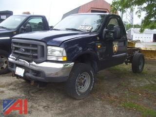 2002 Ford F350 XL Super Duty Cab & Chassis