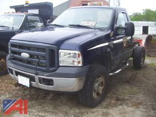 2006 Ford F350 XL Super Duty Cab & Chassis