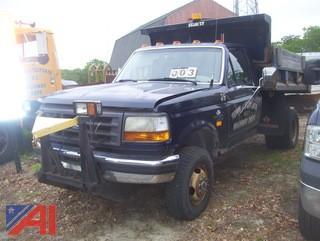 1997 Ford F350 XL Dump Truck