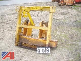 Plow Frame for Grader