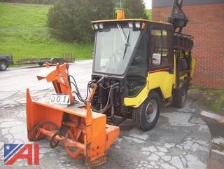 2009 Trackless MT6 Tractor with Attachments