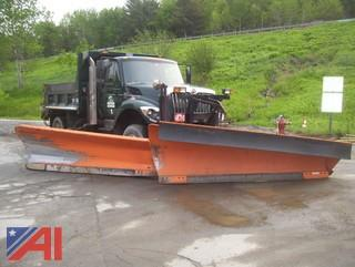 2009 International 7400 Dump Truck with Sander/Plow and Wing
