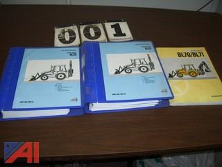 Volvo BL70 Backhoe Manuals