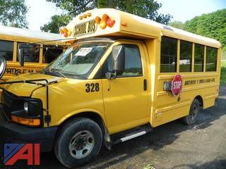 (#328) 2008 Chevy Thomas Express G3500 Mini School Bus