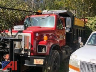 1996 International 2674 Dump Truck with Sander/Plow and Wing