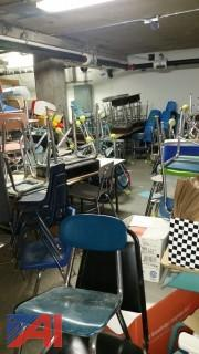 Elementary Desk and Chairs