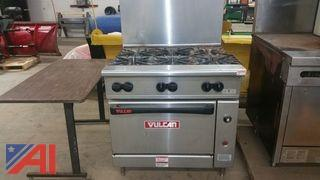 Vulcan 6 Burner Stove/Oven and Southbend Griddle/Oven