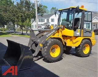 2014 Volvo L30GS Articulating Compact Wheel Loader