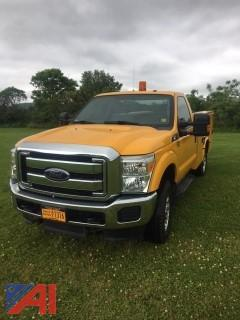 2015 Ford F250 XLT Super Duty Chrome Edition Utility Truck
