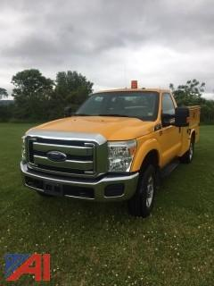 2015 Ford F250 Super Duty XLT Chrome Edition Utility Truck