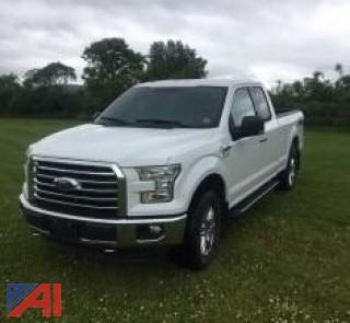2015 Ford F150 XLT Chrome Edition Extended Cab Pickup Truck