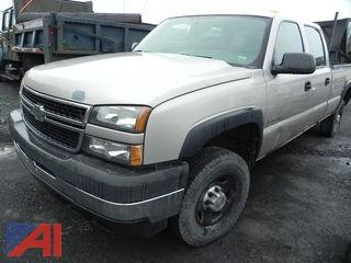 **UPDATED** 2006 Chevy Silverado 2500HD Crew Cab Pickup Truck