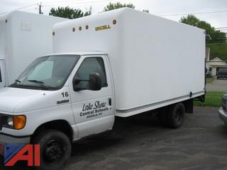 2007 Ford E350 Cube Truck