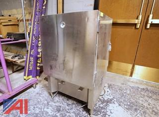 Silver King S/S Refrigerated Milk Dispensers