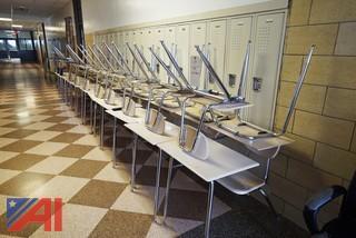 1 Arm Student Chair Desks