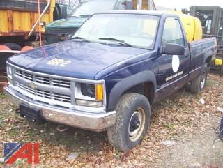 1999 Chevy C/K 3500 Pickup Truck (Parts Only)