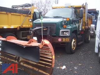 2008 Chevy C8500 Dump with Plow and Spreader