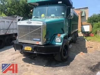 1991 White GMC ACL Dump Truck