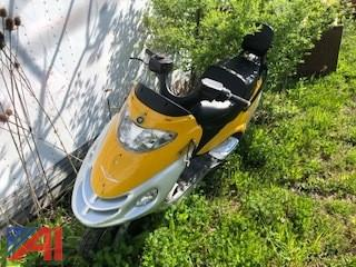 2007 Touhe TH125T-2B Scooter