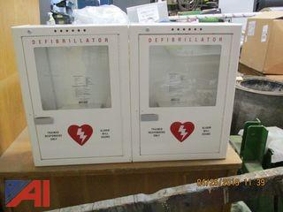 Vent Hood for a Kiln and Defibrillator Cabinets